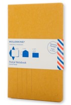Moleskine Postal Notebook - Pocket Mustard Yellow