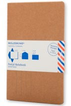 Moleskine Postal Notebook - Kraft Brown