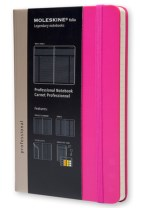 Moleskine Folio Professional Notebook Large Magenta