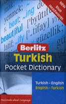 Berlitz Pocket Dictionary Turkish