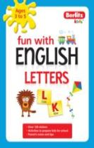 Berlitz Language: Fun with English: Letters (3-5 Yrs)