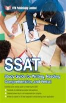 SSAT Study Guide for Writing, Reading Comprehension, and Verbal