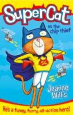 Supercat vs the Chip Thief forside