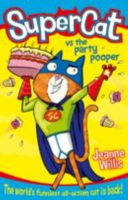 Supercat vs the Party Pooper (Supercat, Book 2) forside