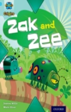 Project X Origins: Light Blue Book Band, Oxford Level 4: Bugs: Zak and Zee forside