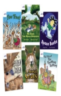 Star Reading White Level Pack (5 Fiction and 1 Non-Fiction Book) forside