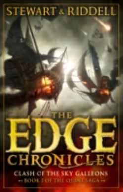 The Edge Chronicles 3: Clash of the Sky Galleons forside
