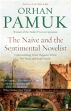 The Naive and the Sentimental Novelist forside