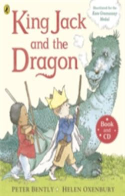 King Jack and the Dragon Book and CD forside