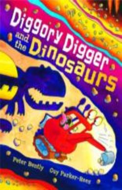 Diggory Digger and the Dinosaurs forside