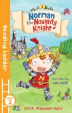 Norman the Naughty Knight forside