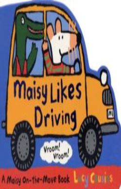 Maisy Likes Driving forside