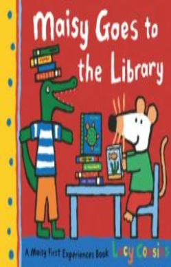 Maisy Goes to the Library forside