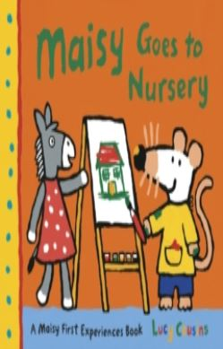 Maisy Goes to Nursery forside