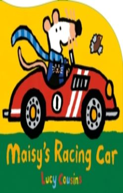 Maisy's Racing Car forside