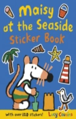 Maisy at the Seaside Sticker Book forside