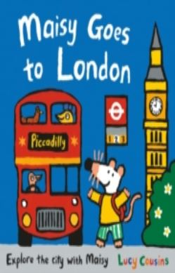 Maisy Goes to London forside