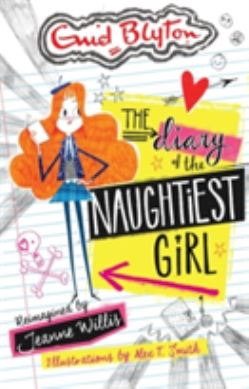 The Diary of the Naughtiest Girl forside
