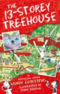 The 13-Storey Treehouse forside