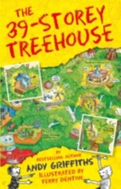 The 39-Storey Treehouse forside