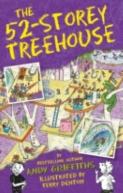The 52-Storey Treehouse forside