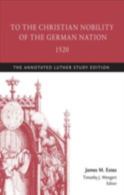 To the Christian Nobility of the German Nation, 1520 forside