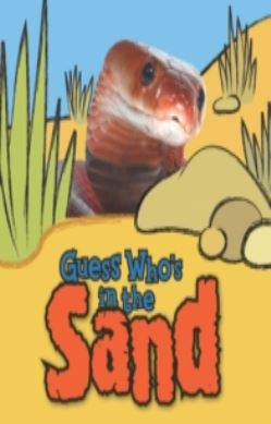 Guess Who's in the...Sand forside