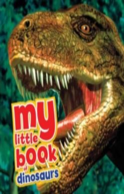 My Little Book of Dinosaurs forside