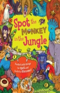Spot the... Monkey in the Jungle forside