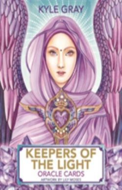 Keepers of the Light Oracle Cards forside