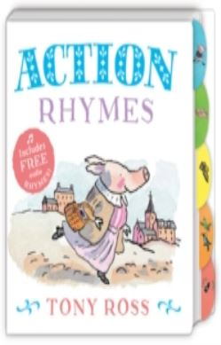 My Favourite Nursery Rhymes Board Book: Action Rhymes forside