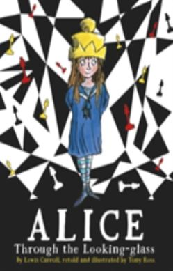 Alice Through the Looking Glass forside