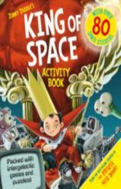 King of Space Activity Book forside