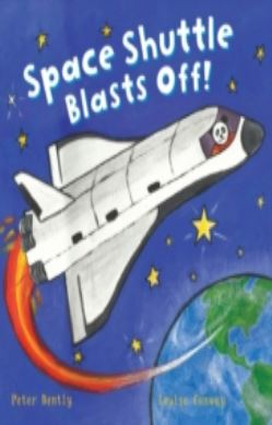 Busy Wheels: Space Shuttle Blasts off forside