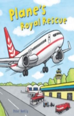 Busy Wheels: Plane's Royal Rescue forside