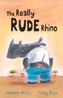 The Really Rude Rhino forside