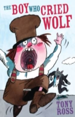 The Boy Who Cried Wolf forside