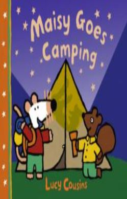 Maisy Goes Camping forside