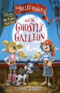 The Jolley-Rogers and the Ghostly Galleon forside