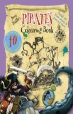 Jonny Duddle's Pirates Colouring Book forside
