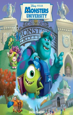 Monsters University forside
