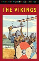 British museum colouring book of the vikings