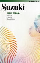 Suzuki cello school volume  4 rev.