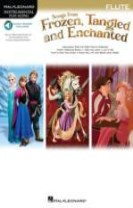 Songs from frozen, tangled and enchanted - flute (book/online audio)