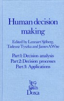 Human decision making