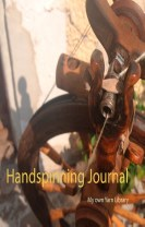 Handspinning journal : my own yarn library