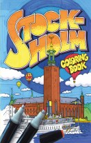 Stockholm coloring book