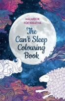 Målarbok för kreativa : the can´t sleep colouring book