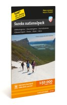 Sareks nationalpark 1:50.000
