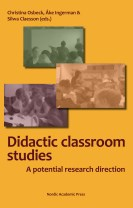 Didactic classroom studies : a potential research direction